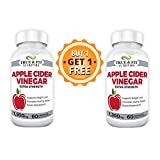True and Fit Nutrition | Apple Cider Vinegar Pills | Buy-1-Get-1 Free | Best Weight Loss Pills | Weight Loss Capsules | Extra Strength Supplement | 1300mg