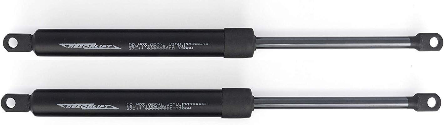 Cuens Descanso Juego de 2 amortiguadores o Resortes de Gas para canapes (1500 Newton) Brida M-8. para canapés de 180cm