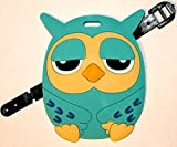 Anime Owl Luggage Tag
