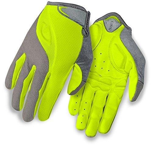 Giro Tessa LF Glove - Women's Titanium/Highlight Yellow Large