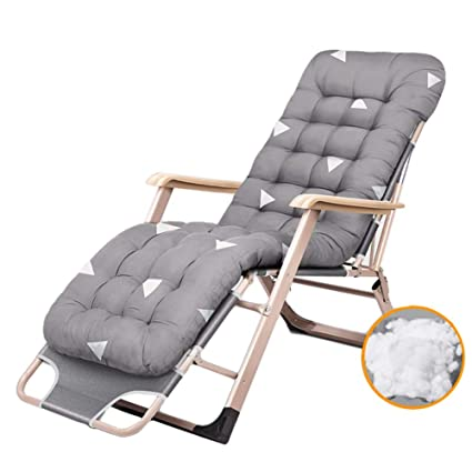 Amazon.com: Lounge chair Garden Patio Adjustable Portable ...