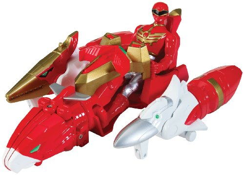 Power Rangers Megaforce Sky Brothers Zord Vehicle and Red Ranger ()