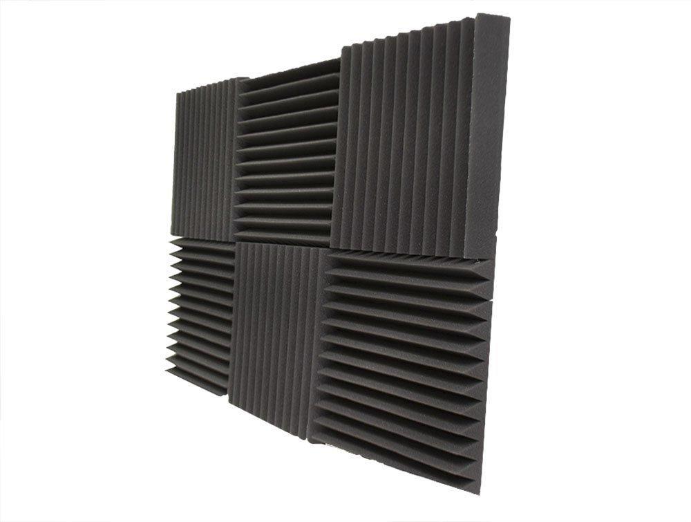 6 Pack- Acoustic Panels Studio Foam Wedges 2'' X 12'' X 12'' by Foamily (Image #4)
