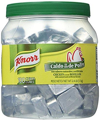 Knorr Bouillon Caldo Con Sabor De Pollo 100 Cubes 2.4lb