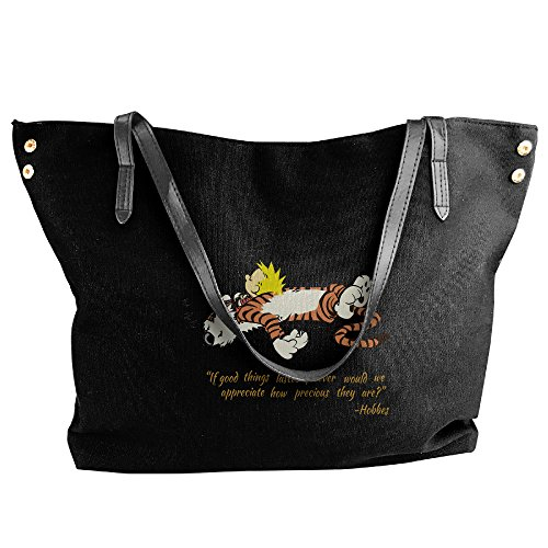 [Calvin And Hobbes Quotes Handbag Shoulder Bag For Women] (Calvin And Hobbes Costumes For Kids)