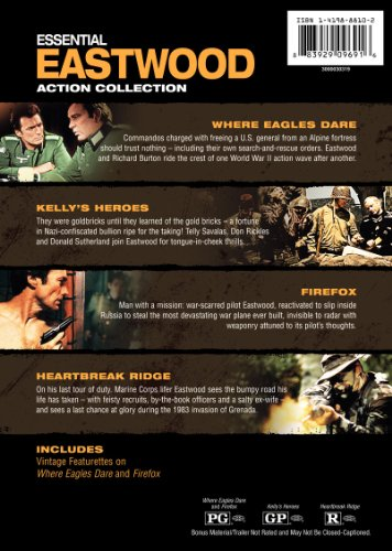photo Wallpaper of Warner Manufacturing-Essential Eastwood: Action Collection (Firefox / Heartbreak Ridge /-