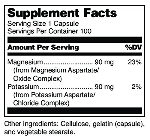 310539714003 - Douglas Laboratories - Magnesium/Potassium Complex - Supports Cardiovascular Health and Gastrointestinal Tract* - 100 Capsules carousel main 1