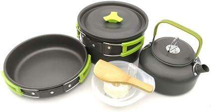 Utensilios de cocina para camping Equipo compacto de cocina ...
