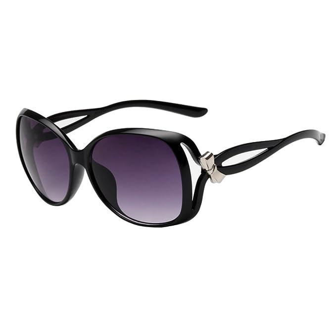 Amazon.com: HUAYI UV400 - Gafas de sol unisex para ...