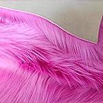 Topspitgo Rugs living room,Soft Faux Sheepskin Fluffy fur Area Rug For kids Girls Bedroom Sofa Floor Shaggy Bedside…