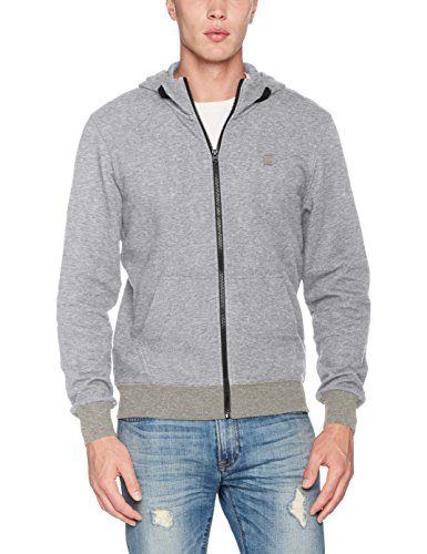 Sweat Core Raw Sw shirt 906 L À Zip s Hooded G Gris Capuche Htr star Homme grey w1qE8HS
