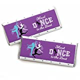 Must Dance to The Beat - Dance - Candy Bar Wrapper Dance Party Or Birthday Party Favors - Set of 24