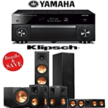 Klipsch RP-280F 5.1 Reference Premiere Home Theater System with Yamaha RX-A1060BL 7.2-Ch A/V Receiver