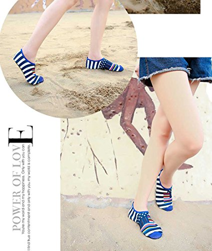 Z Blue Water Dry Beach Toddler Kids Men Surf For Exercise Quick Yoga Swim and Shoes SUO Lightweight Aqua Women Socks r0rS8Hf