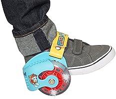 PlayWheels Paw Patrol Heel Wheels Skates Blue