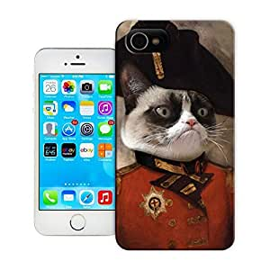 Unique Phone Case Personal animal head pattern Grumpy General Cat Hard Cover for 4.7 inches iPhone 6 cases-buythecase