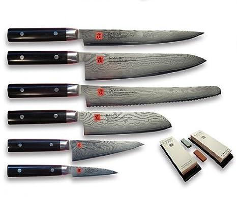 Compra Kasumi - Juego de cuchillos de cocina en Amazon.es