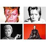 Set 4 Tovagliette David Bowie