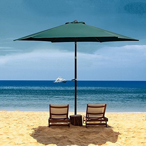 Flexzion Aluminum Umbrella Polyeaster Portable