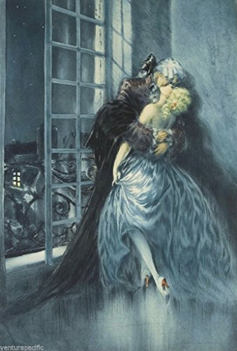 Lovers : Louis Icart : Circa 1928 : Art Print for sale  Delivered anywhere in USA