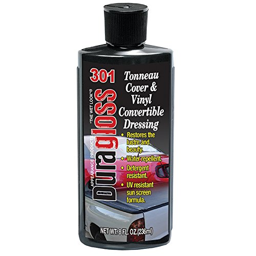 Duragloss 301 Automotive Tonneau Cover and Vinyl Convertible Dressing - 8 oz. (Dressing Top Vinyl)