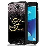 Galaxy J3 Emerge Glitter Case, SuperbBeast Faith Family Friends TPU Bumper Case for Samsung Galaxy J3 Emerge/J3 Prime/J3 2017/Amp Prime 2/Express Prime 2