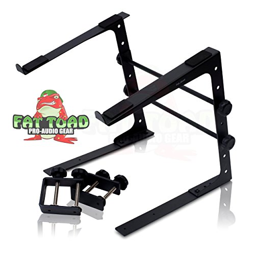 DJ Laptop Computer Stand by Fat Toad | Portable PC Table wit