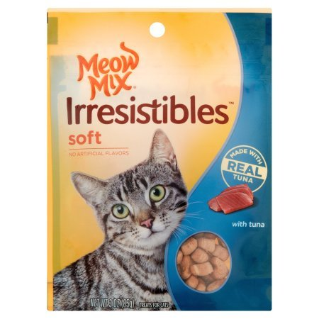 PACK OF 24 - MEOW MIX IRRESISTABLES 3OZ SOFT TUNA by Meow Mix (Image #1)