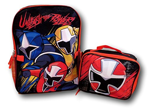 Power Rangers Super Ninja Steel Backpack with Detachable Insulated Lunch ()