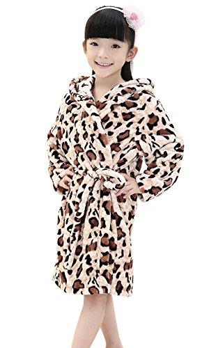 Coral Fleece Hooded Bathrobe Sleepwear