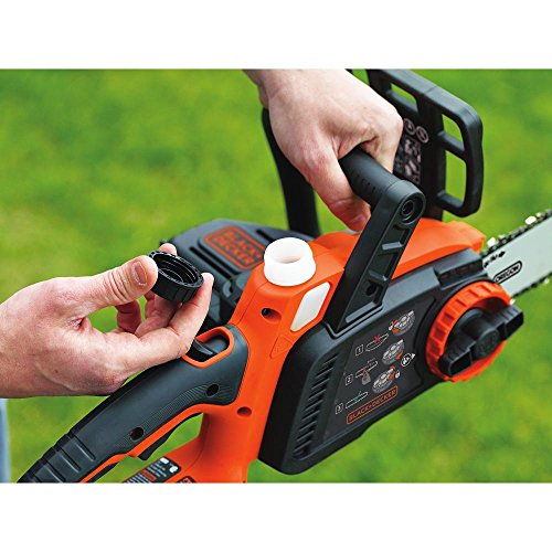 BLACK+DECKER LCS1240B 12-Inch Lithium Ion Chainsaw, 40-volt, Baretool by BLACK+DECKER (Image #4)