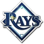 MLB Tampa Bay Rays Die Cut Color Automobile Emblem