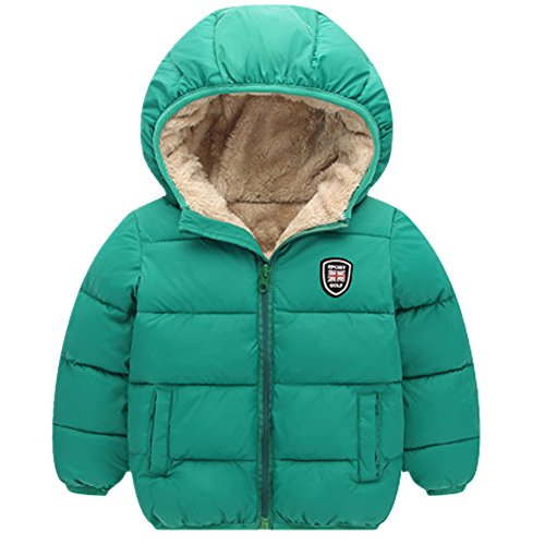 Baywell Winter Warm Coat, Little Girls Boys Outwear Hoodie Jacket ()