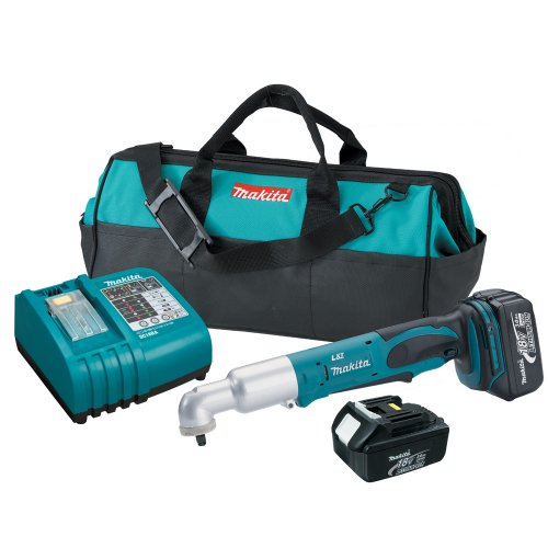 Makita BTL063 18-Volt LXT Lithium-Ion Cordless 3/8-Inch Angle Impact Wrench Kit