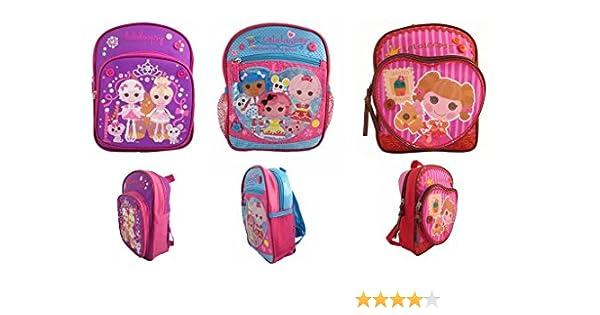 38a47754c31e Amazon.com   Lalaloopsy Mini Toddler Backpack set of 3 backpacks   Beauty
