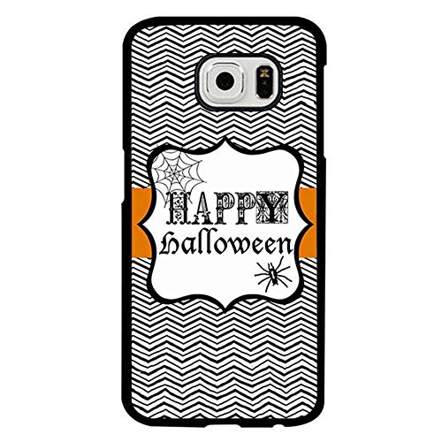 Happy Halloween Phone Case Compatible with Samsung Galaxy S6, Cool Halloween Printable Anti Dust Plastic Phone Shell Compatible with Galaxy S6 -
