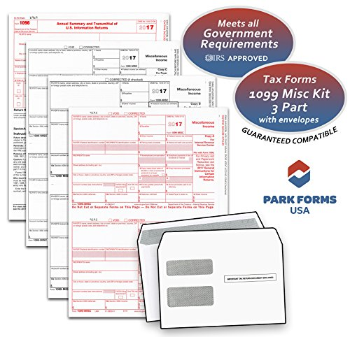 1099 MISC 3-Part Set with - Order Process Order Proceed The Or The