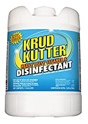 Krud Kutter DH05 Heavy Duty Cleaner and Disinfectant, 5 Gallon