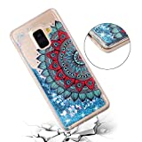 for Samsung Galaxy J6 2018 Case Glitter Liquid