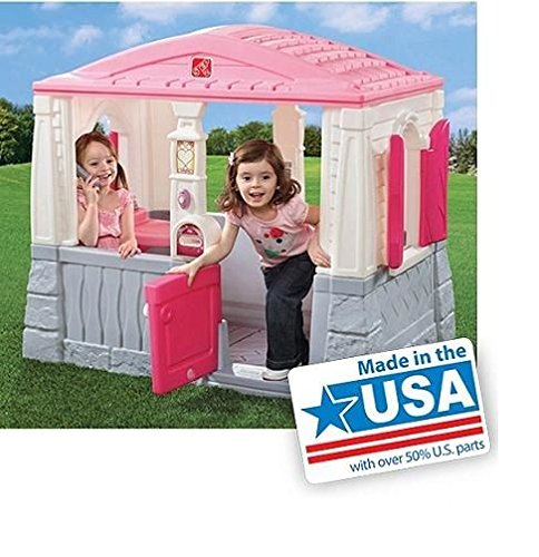 Step2 Neat and Tidy Cottage, Pink Playhouse Kids Cottage Toy New .HN#GG_634T6344 G134548TY34037 by Anajosily