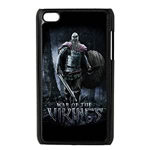 War Of The Vikings Game iPod Touch 4 Case Black TPU Phone Case SV_095433