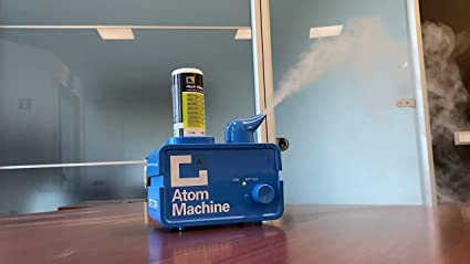 ERRECOM Atom Mashine NEBULIZADOR ULTRASÓNICO 12V para Limpieza de ...