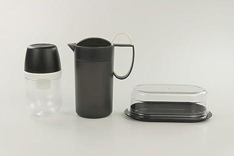 337516a245 Tupperware Exclusiv Crema momenti Cappuccinatore + zuccheriera + Burro  Perle Servire P 24290