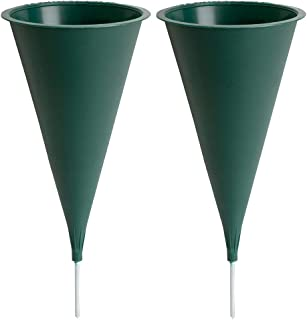 product image for Plastic Cone Cemetery Vase, 2-Pack