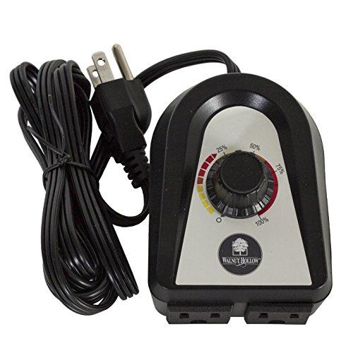 Walnut Hollow Dual Plug-in Power Regulator for Woodburnin...