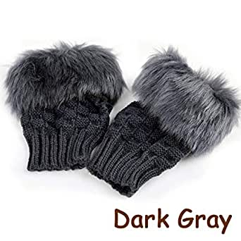Amazon.com: KOKOBUY 8 Colors Women Winter Rabbit Gloves
