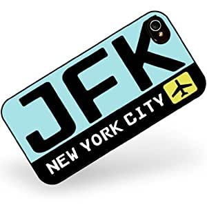 Hard Case For Iphone 6 4.7 Cover Airport code JFK / New York City country: United StatNeonblond