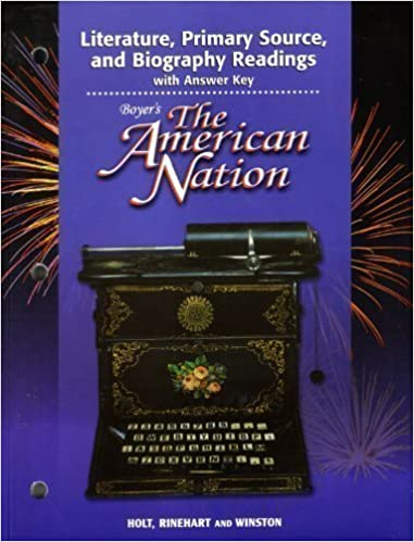 Boyers American Nation: Literature, Primary Source and - Lib
