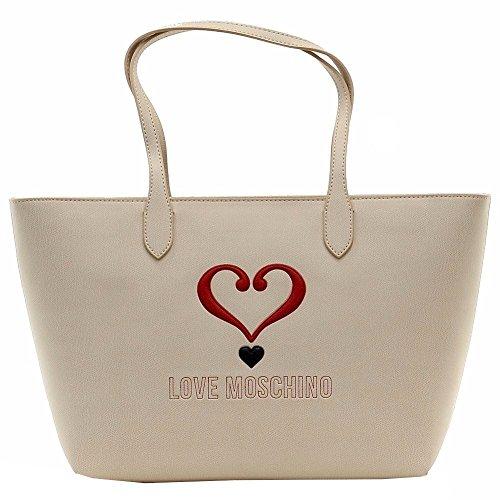 Borsa Shopping Love Moschino | P/E 2016 | JC4073PP11LF0-Avorio Avorio