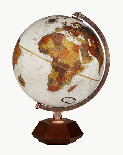 Replogle Globes Hexhedra Globe, Bronze Metallic Finish, 12-Inch Diameter, ()